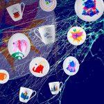 Нейросеть Студии Артемия Лебедева создала дизайн фарфора